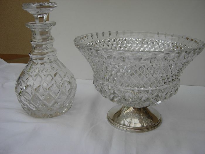 Lot of Crystal / Silver. - Crystal / silver.