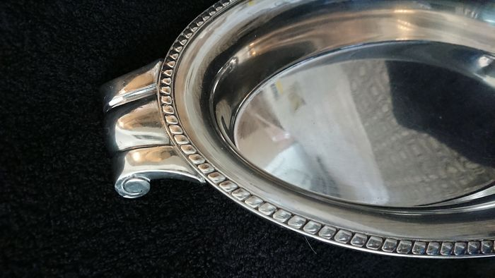 . - Poinçon  - Vegetable dish - Silver plated