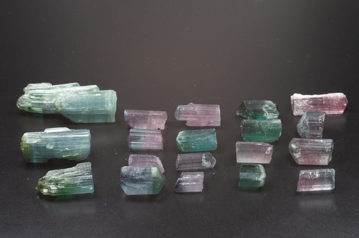 Tourmaline (group of silicate minerals) Mineral Collection - 44 g