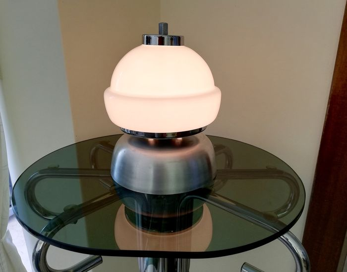 Suggestive Space Age design 1960s table lamp
