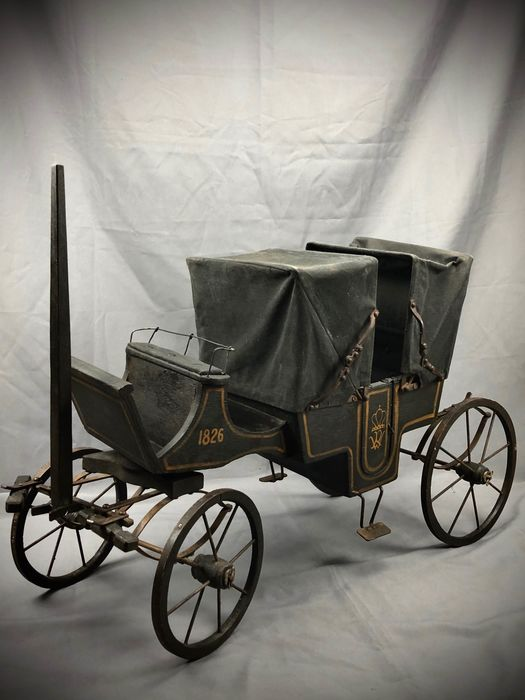 Carriage props miniature - Victorian Style