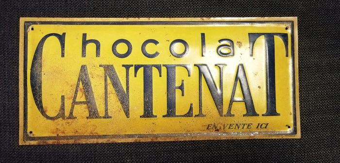Chocolate stamped sheet CANTENAT - Steel