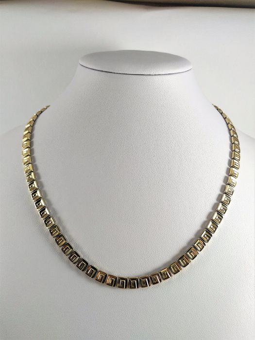 Chimento - 18 kt. Gold - Necklace - 0.01 ct Diamond