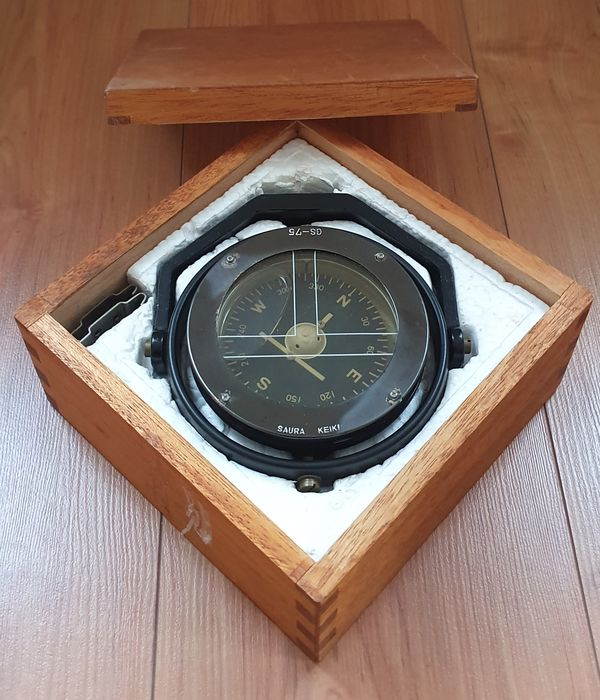 Dutch Navy Lifeboat Compass - IJzer (gegoten/gesmeed), Koper - 19e eeuw