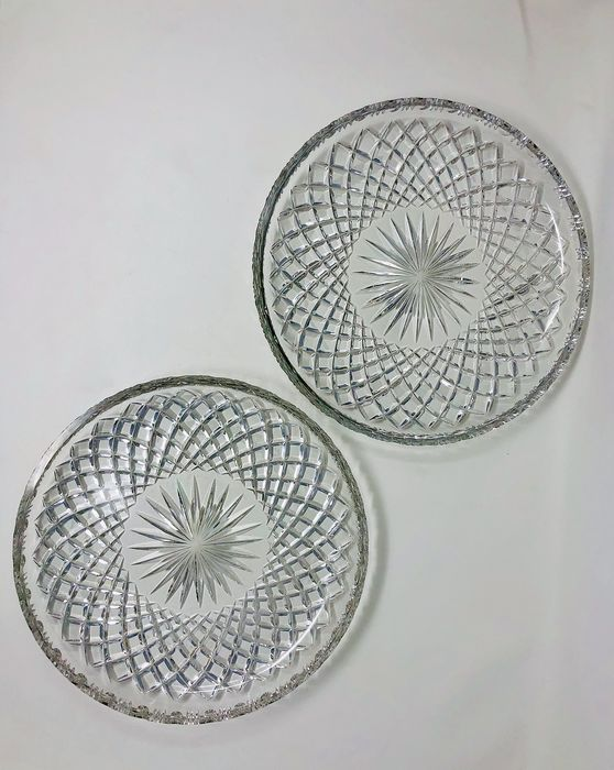 Serving dishes - Crystal