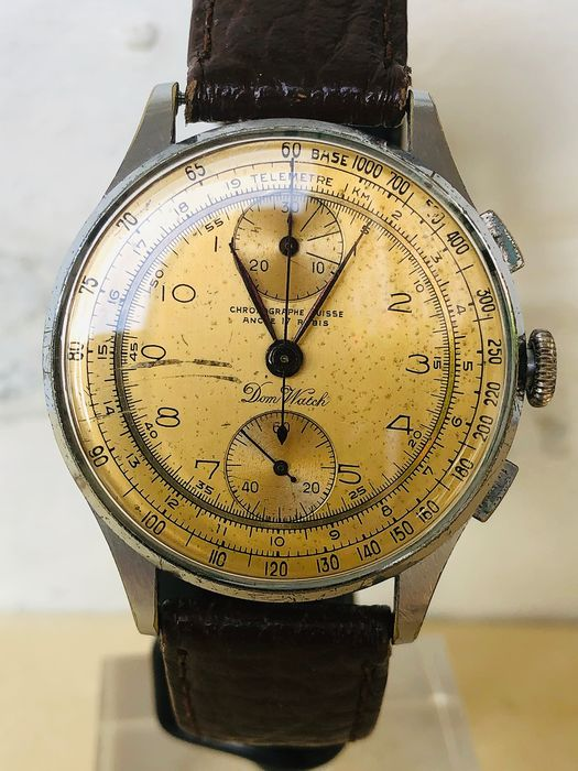 "Chrongraphe Suisse - ""NO RESERVE PRICE"" - 578494 - Men - 1901-1949"