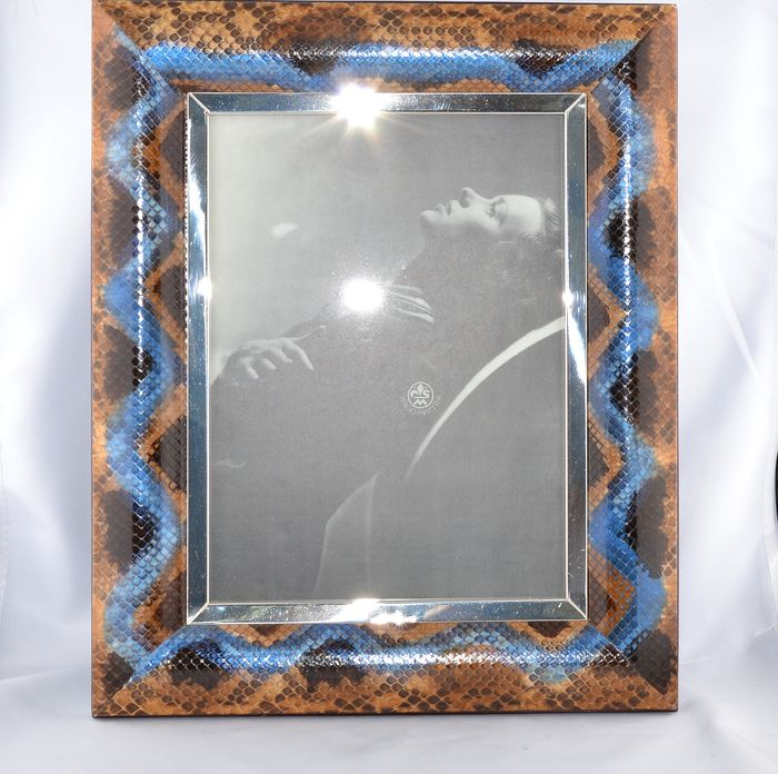 silver frame (1) - .925 silver - Italy - 21st century