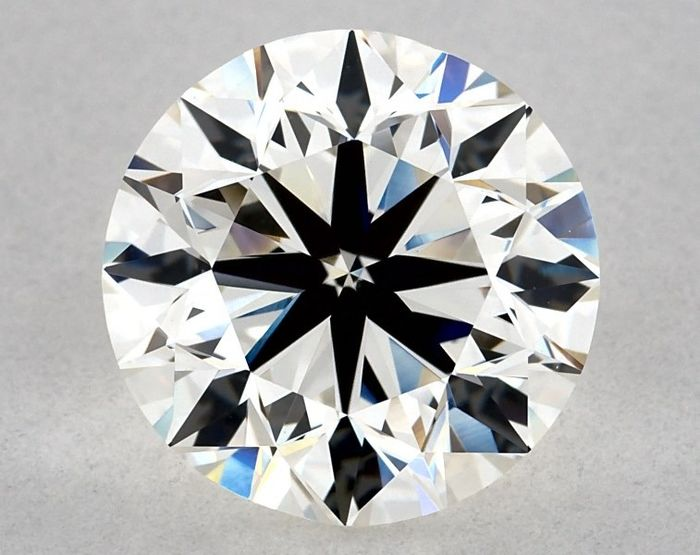 1 pcs Diamant - 2.90 ct - Rund - G - VS1, IGI - 3 VG - Low Reserve Price