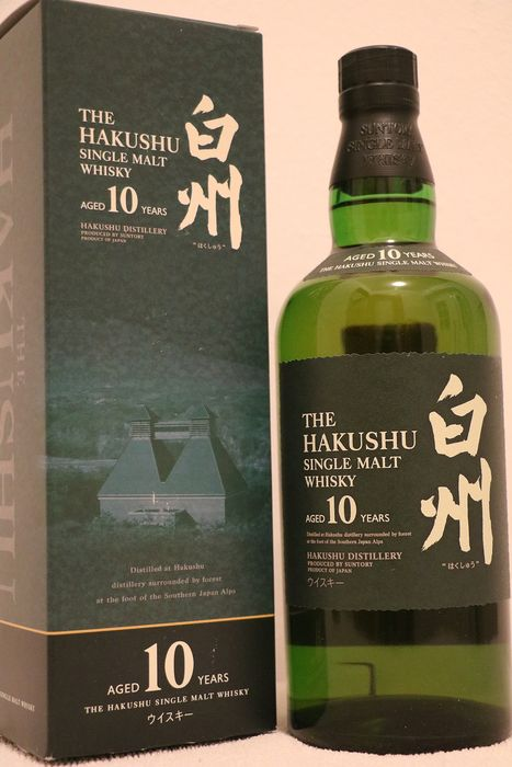 Hakushu 10 years old - Suntory - 70 cl