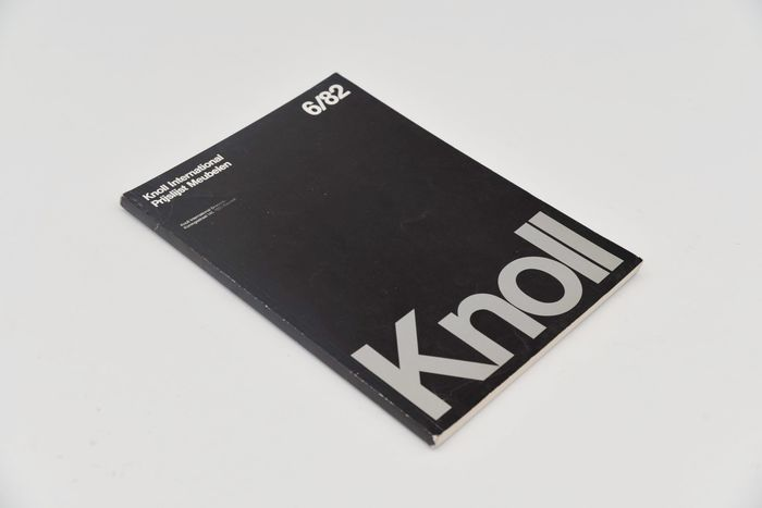 Knoll - Catalogue (international price list) from 1982 in Din A4 size