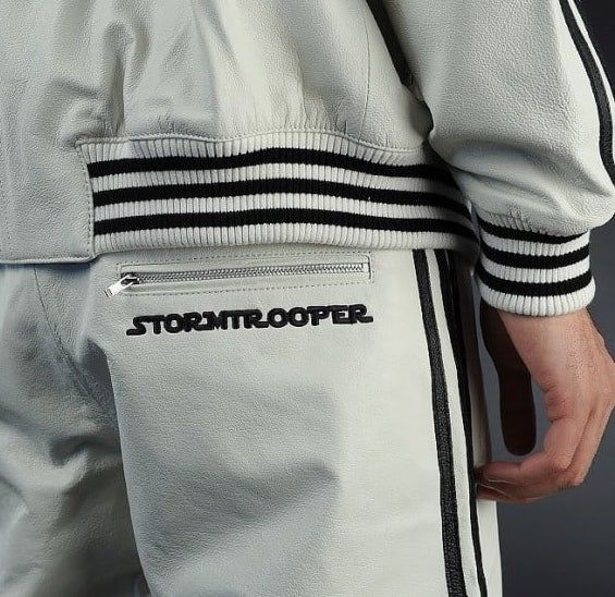 Star Wars Adidas White Leather Tracksuit «Stormtrooper