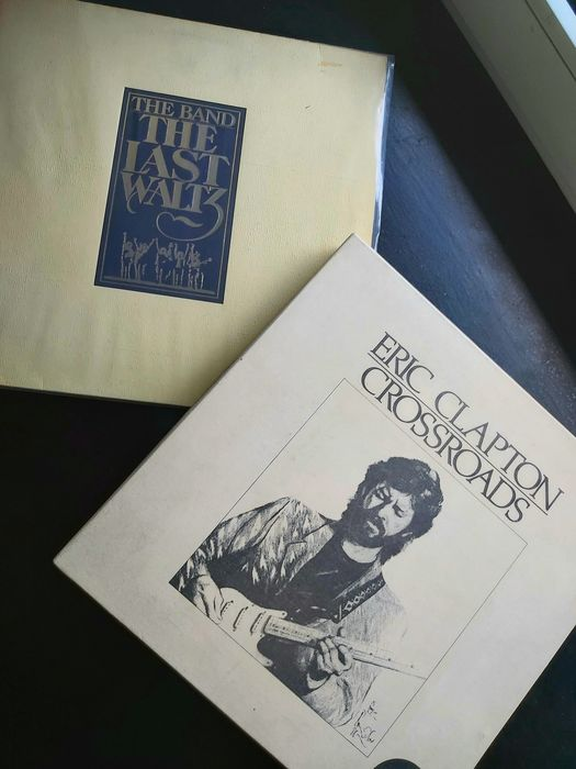 Band, Cream, Derek & The Dominos, Eric Clapton & Related - Multiple artists - Crossroad Box 6LP + The Band, The Last Waltz 3LP - Multiple titles - 3xLP Album (Triple album), 6xLP Album Boxset - 1978/1988