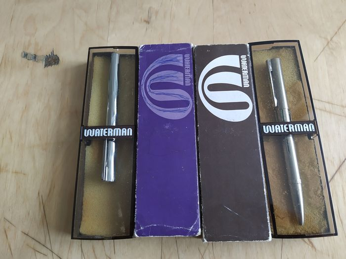 Waterman - Fountain pen and Ball 4 colors wanterman - Collection of 2