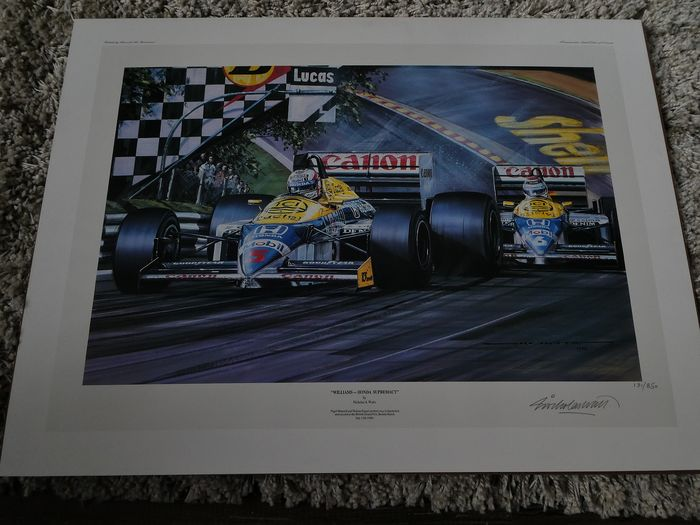 Formula One - 1986 - Lithography