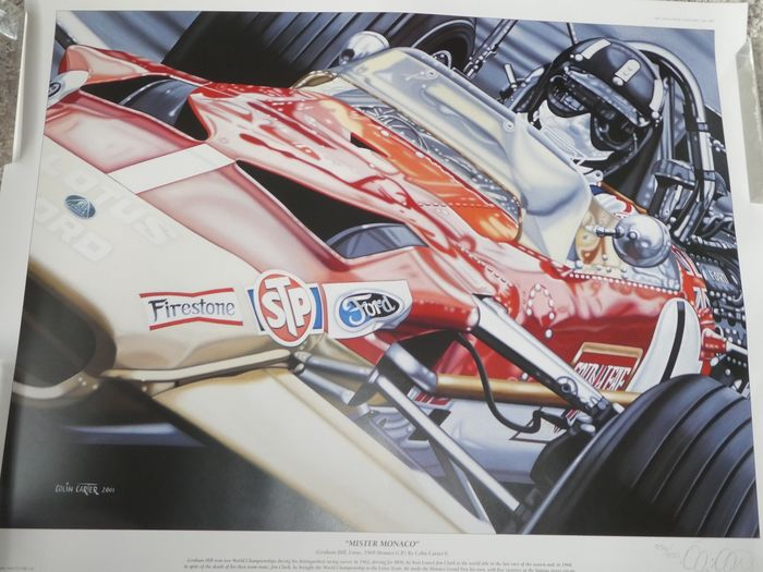 Formula One - Lithography