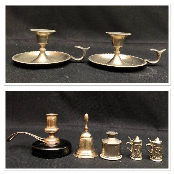 Candlestick, and more - Silverplate