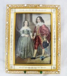 Anonymous - After Van Dyck - Prince William II and María Stuart