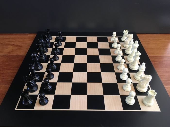 Chess game - Wood