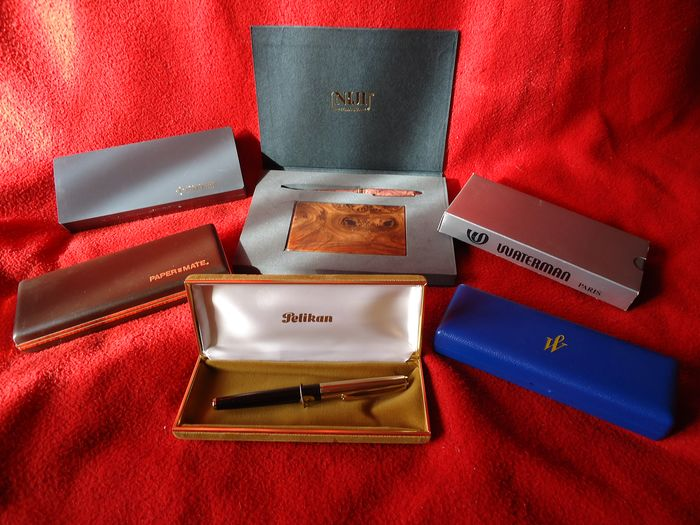 Fountain pens and ballpoint pens - Group of 6