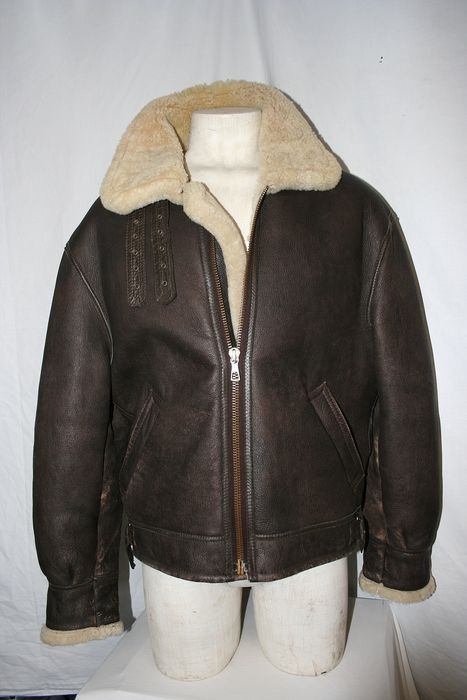 Aviation Company - Sheepskin pilot jacket - Leather