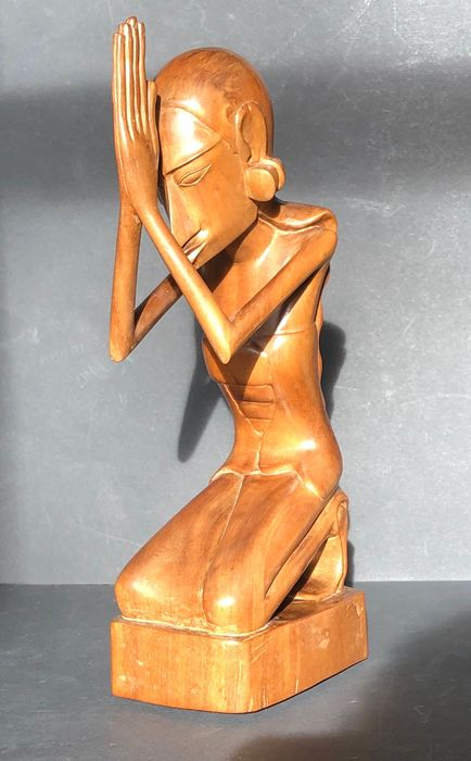 Sculpture (1) - Wood - Bali, Indonesia