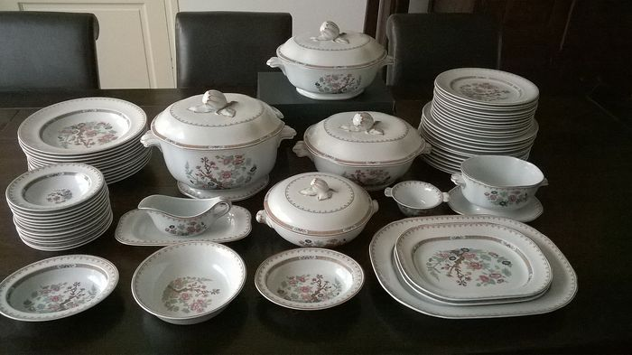 Rorstrand Lotus - Complete service for 12 people (63) - Porcelain