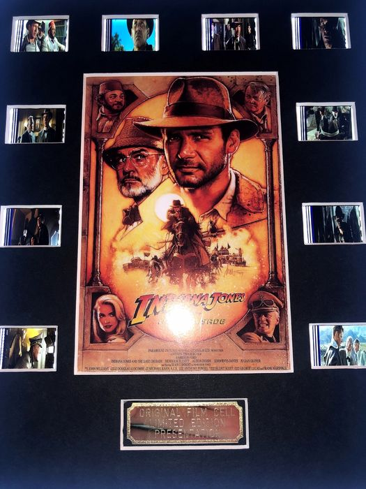 Indiana Jones and the Last Crusade - Film Cell Display