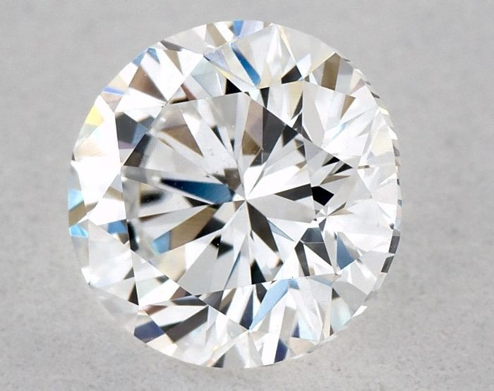 1 pcs Diamant - 0.71 ct - Brillant, Rund - D (farblos), GD/VG/GD - SI1, Low Reserve Price + Free Shipping