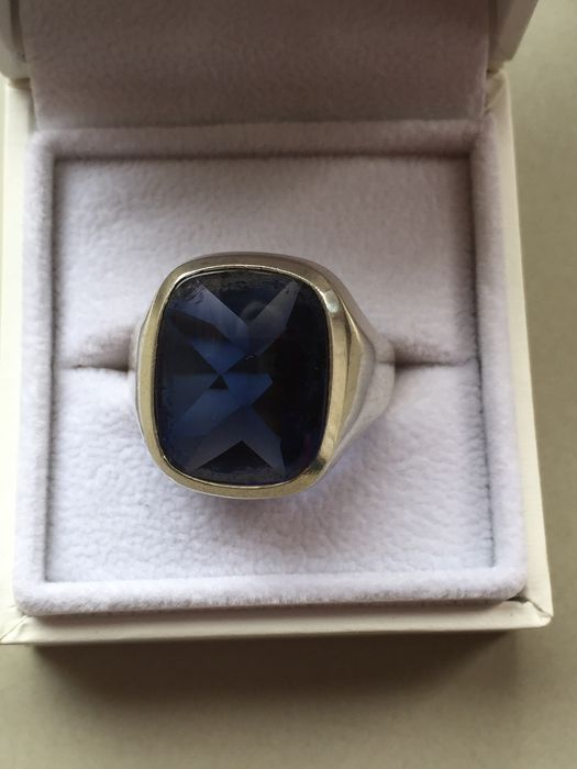 835 Zilver - Ring Spinel