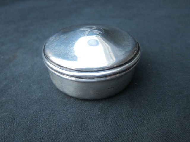 Silver Pyxis (hostie box)