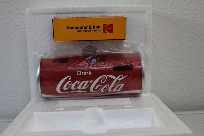 Tizer Co. Ltd (Japan)  - Coca Cola 110 TX Can Camera - 1978 - Plastic