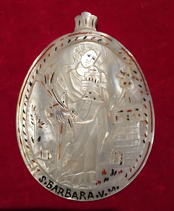 pendant - Baroque - Mother of pearl