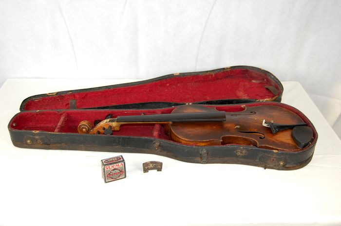 Labeled Leopold Mitsching - Violin - Germany - 1920