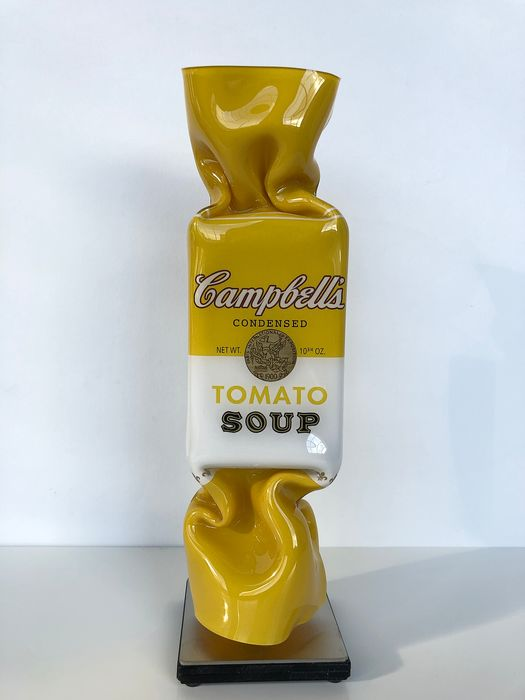 Ad van Hassel - Art Candy Toffee - Andy Warhol Campell's