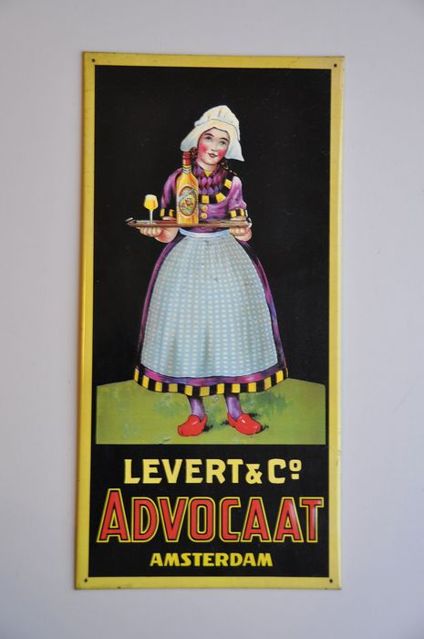 LEVERT & Co ADVOCAAT - Sign - Steel