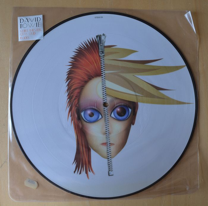 "David Bowie - ""Rebel Never Gets Old"" b/w  ""Days"" - Maxi Singolo 12'' pollici, Picture Disc - 2004"