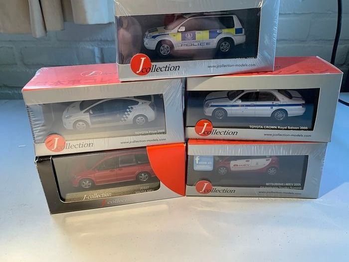 J-collection - 1:43 - Japanse modellen - Matchbox in types