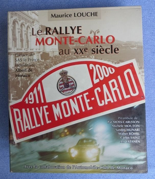 Libros - The history of the Rallye Monte Carlo in the 20th Century.   - 2001