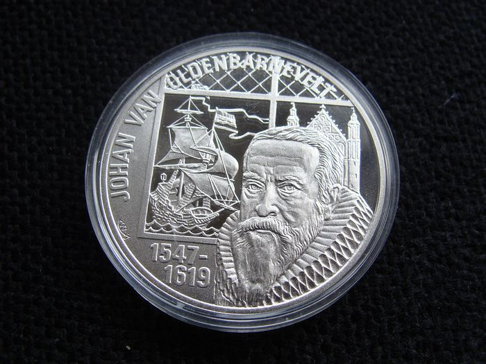 "The Netherlands - 50 Euro 1997 ""Johan van Oldenbarnevelt"" - Silver"