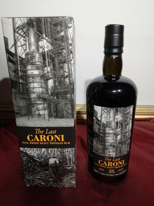 """Caroni 1996 23 years old Velier - """"The Last"""" Full Proof Heavy Trinidad Rum - 70cl"""