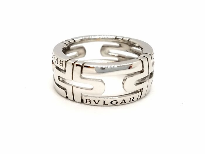 Bvlgari - 18 kts. Or blanc - Bague