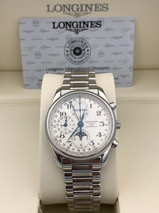 Longines -  Master Collection Triple Date Moonphase Chronograph  - Heren - 2011-heden