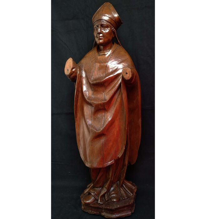 Statue, Sculpture (1) - Gothic Style - Wood - 16th century