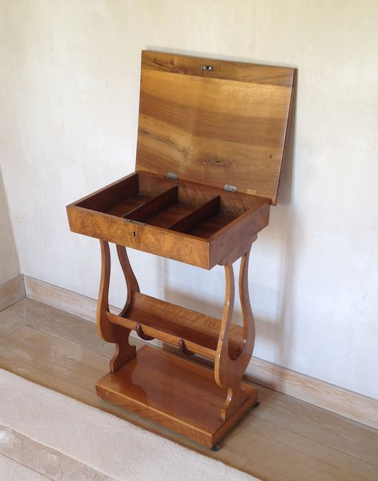 Art Deco sewing / side table