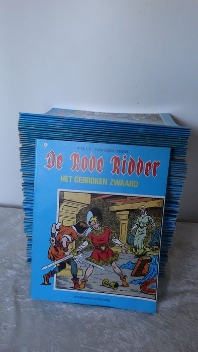 De Rode Ridder 1 t/m 64 , 66, 68 t/m 70, 72 t/m 98 , 100 t/m 106 - Meerdere titels - Softcover - Different editions - (1964/1983)