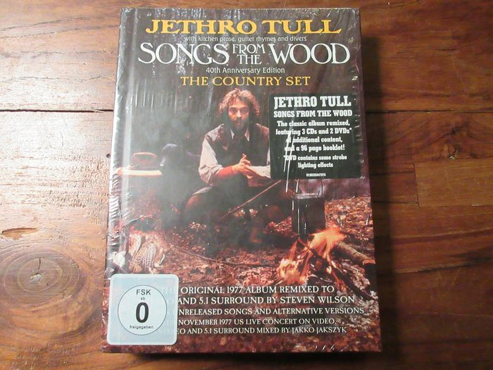 Jethro Tull - Songs From The Wood 40th Anniversary Edition (The Country Set) - CD Box set - 2017/2017