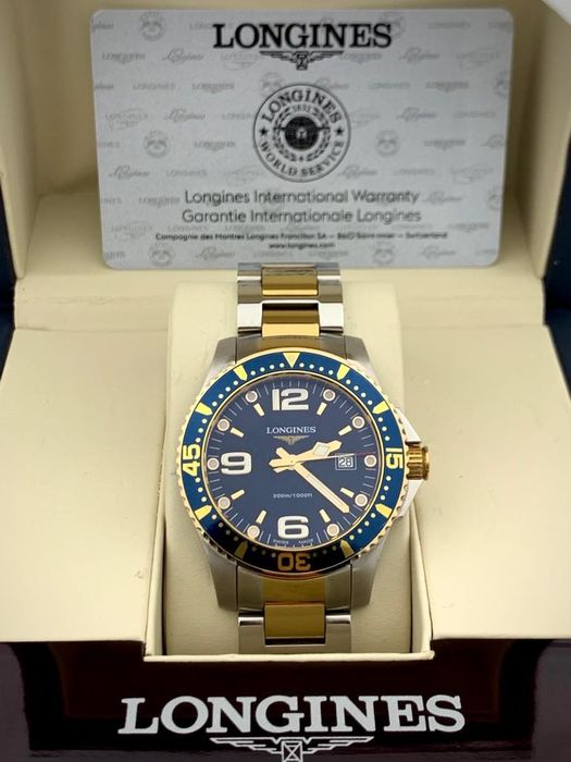 Longines - Hydroconquest Two Tone  - L3.640.3.96  - Heren - 2011-heden