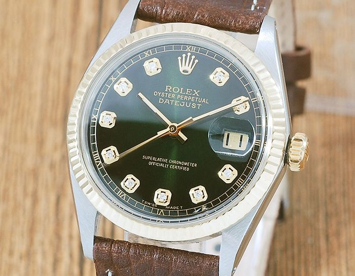 Rolex - Oyster Perpetual Datejust  - 1601 - Férfi - 1970-1979