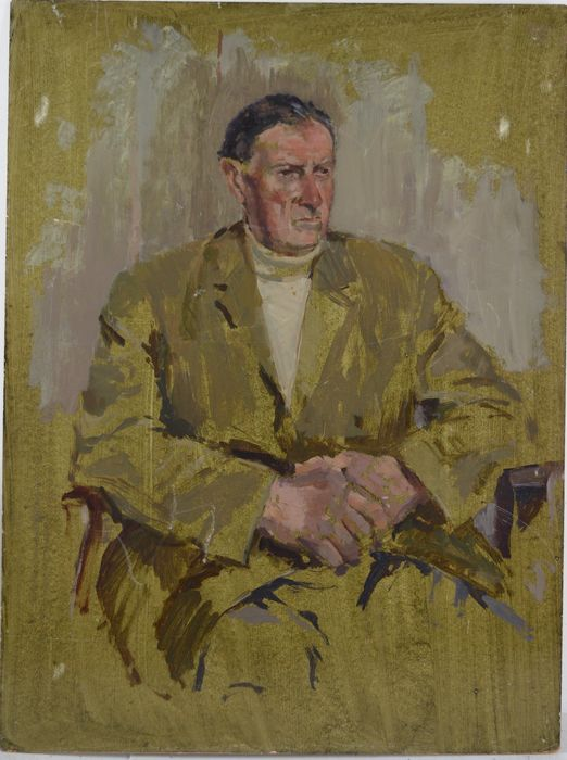 English school. (20th century) - A portrait of a gentleman