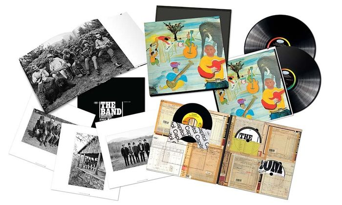 The Band -  Music From Big Pink  || Super deluxe edition - LP Box set - 2018/2018